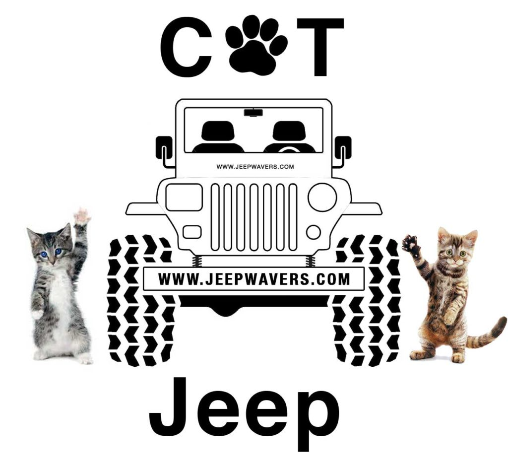 Cat Jeep JeepWavers.com