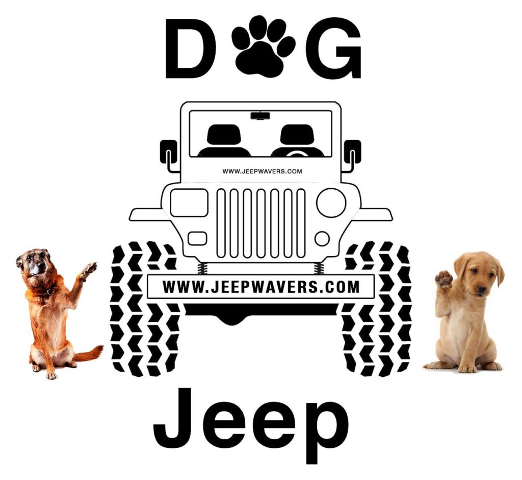 Dog Jeep JeepWavers.com