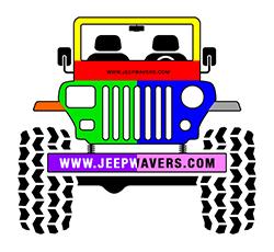 Multicolor Jeep
