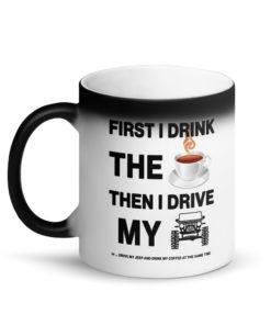 Coffee Jeep Matte Black Magic Mug Mugs Coffee