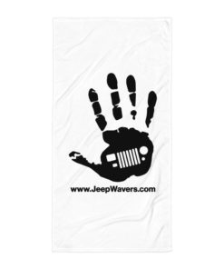 JeepWavers Logo Towel