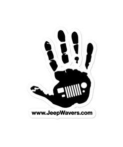 JeepWavers Logo Bubble-free stickers Stickers JeepWavers