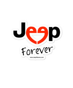 Jeep Forever Bubble-free stickers Stickers Forever