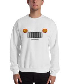 Pumpkin Jeep Grill Halloween Unisex Sweatshirt Sweatshirts Halloween