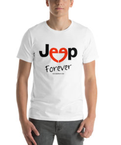 Jeep Forever Short-Sleeve Unisex T-Shirt T-Shirts Forever