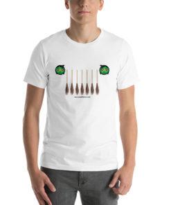 Witch Broom Jeep Grill Halloween Short-Sleeve Unisex T-Shirt T-Shirts Halloween