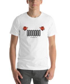 Devil Jeep Grill Halloween Short-Sleeve Unisex T-Shirt T-Shirts Halloween