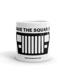 Jeep Save The Squares Mug Mugs Square Lights