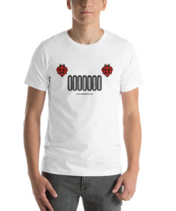 Devil Jeep Grill Halloween Short-Sleeve Unisex T-Shirt 3 T-Shirts Halloween