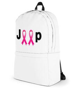 Jeep Breast Cancer Logo Backpack Backpacks Breast Cancer