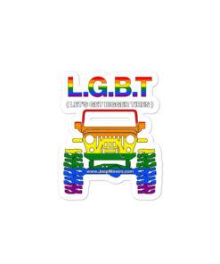 LGBT Bubble-free stickers Stickers LGBT