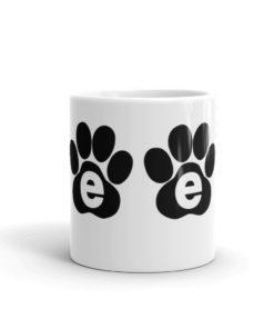 Jeep Black Paw Logo Mug Mugs Paw