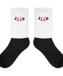 Jeep Breast Cancer Logo Socks Socks Breast Cancer
