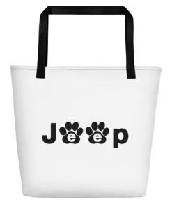 Jeep Black Paw Beach Bag Beach Bags Paw
