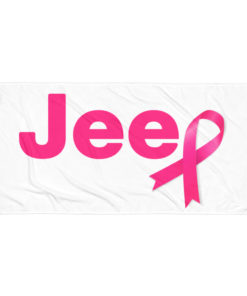 Jeep Breast Cancer Towel