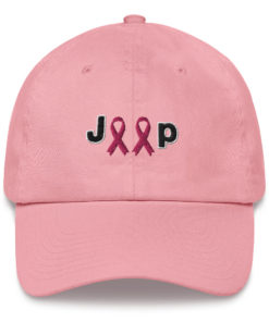 Jeep Breast Cancer Logo Dad hat Caps Breast Cancer