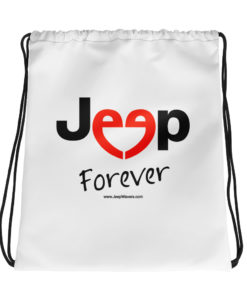 Jeep Forever Drawstring bag Drawstring Forever