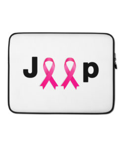 Jeep Breast Cancer Logo Laptop Sleeve Laptop Cases Breast Cancer