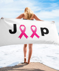 Jeep Breast Cancer Logo Towel Towels Breast Cancer