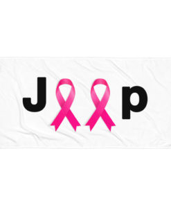 Jeep Breast Cancer Logo Towel