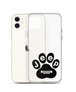 Jeep Black Paw iPhone Case iPhone Cases Paw