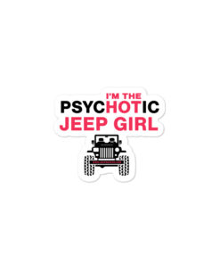 PsycHOTic Jeep Girl stickers
