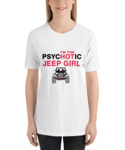 PsycHOTic Jeep Girl Short-Sleeve T-Shirt T-Shirts Hot Girl