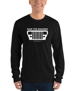 Jeep Save The Squares Long sleeve t-shirt