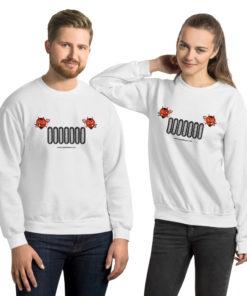 Devil Jeep Grill Halloween Unisex Sweatshirt Sweatshirts Halloween