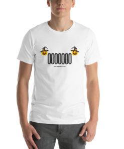 Witch Jeep Grill Halloween Short-Sleeve Unisex T-Shirt T-Shirts Halloween