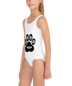 Jeep Black Paw Kids Swimsuit Swimsuits Paw