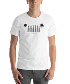 Jeep Bullets Grill Short-Sleeve Unisex T-Shirt T-Shirts Bullets