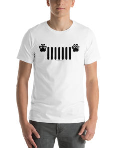 Jeep Paw Grill Short-Sleeve Unisex T-Shirt T-Shirts Paw