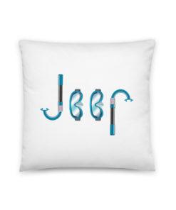 Jeep Snorkeling Basic Pillow Pillows Snorkeling