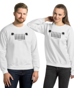Jeep Bullets Grill Unisex Sweatshirt Sweatshirts Bullets