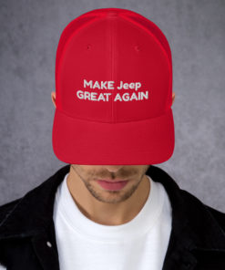 Make Jeep Great Again Trucker Cap Caps Other