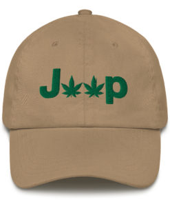 Jeep Cannabis Dad hat Caps Weed