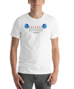Jeep Bowling Grill Short-Sleeve Unisex T-Shirt T-Shirts Bowling