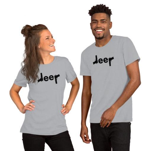Jeep Guns Short-Sleeve Unisex T-Shirt T-Shirts Gun