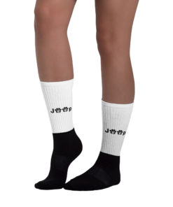 Jeep Black Paw Logo Socks Socks Paw