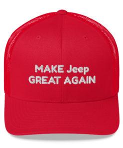 Make Jeep Great Again Trucker Cap