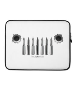 Jeep Bullets Grill Laptop Sleeve Laptop Cases Bullets