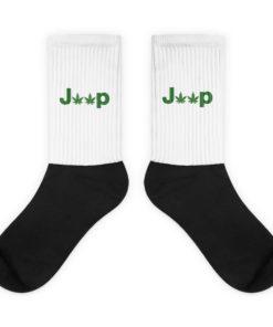 Jeep Cannabis Socks Socks Weed