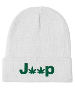 Jeep Cannabis Embroidered Beanie Beanies Weed