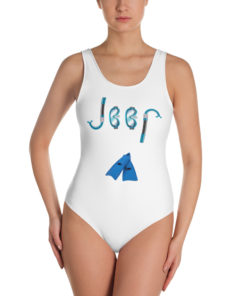 Jeep Snorkeling One-Piece Swimsuit
