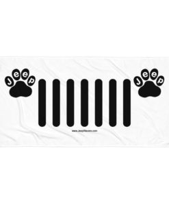 Jeep Paw Grill Towel