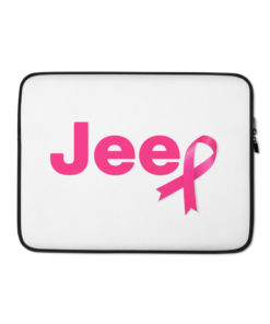Jeep Breast Cancer  Laptop Sleeve Laptop Cases Breast Cancer