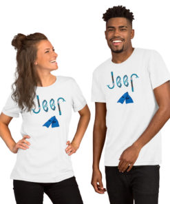 Jeep Snorkeling Short-Sleeve Unisex T-Shirt T-Shirts Snorkeling