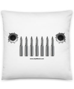 Jeep Bullets Grill Basic Pillow Pillows Bullets