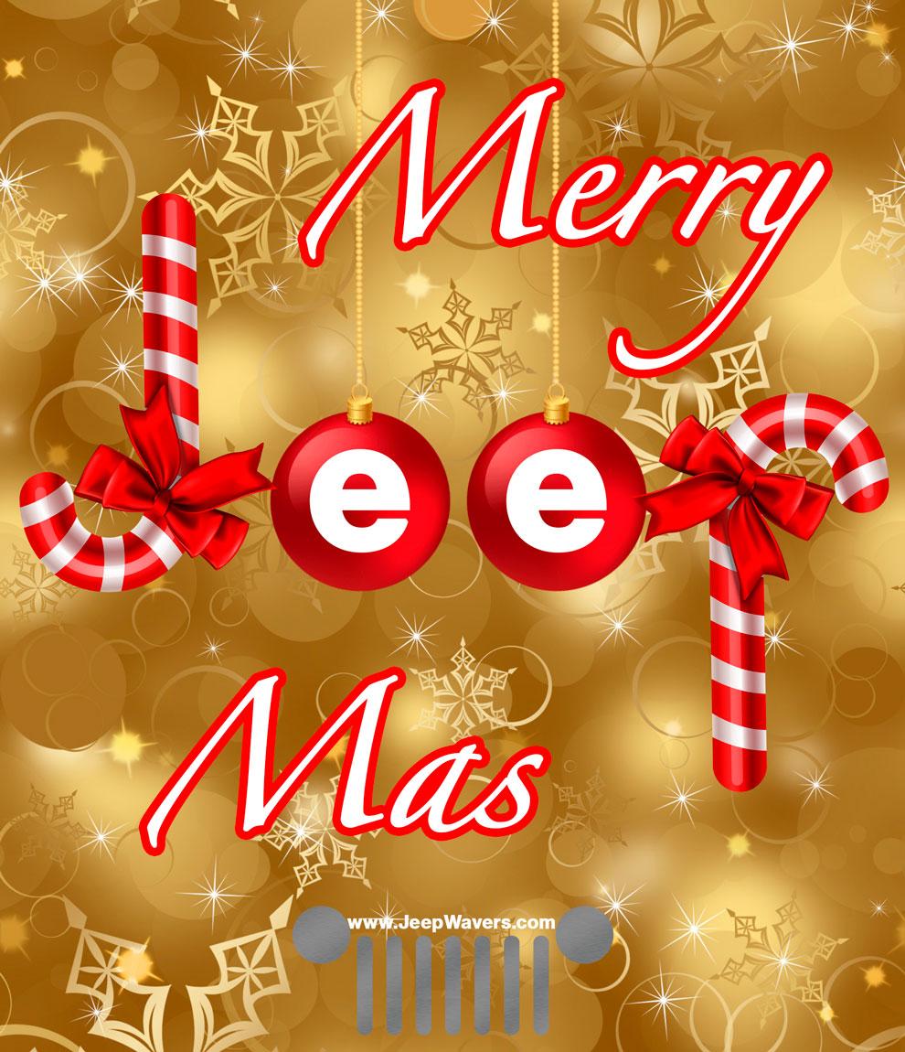 Merry Christmas Jeep JeepMas